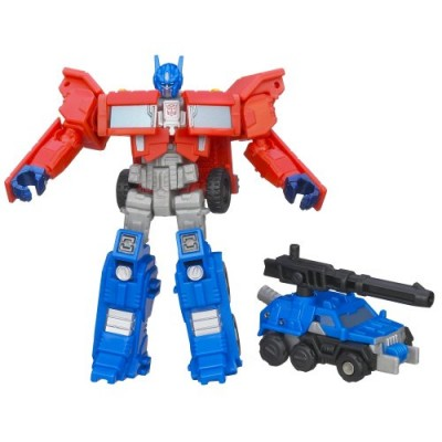 Transformers Generations Legends Class Optimus Prime and Autobot Roller Figures