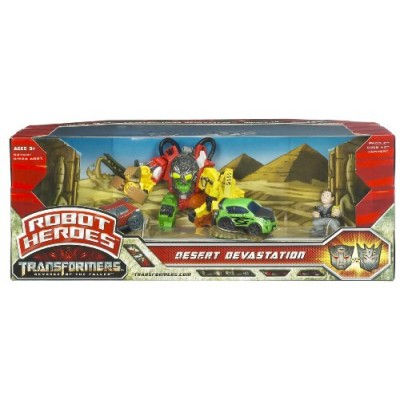 Transformers Movie 2  Robot Heroes - Desert Devastation