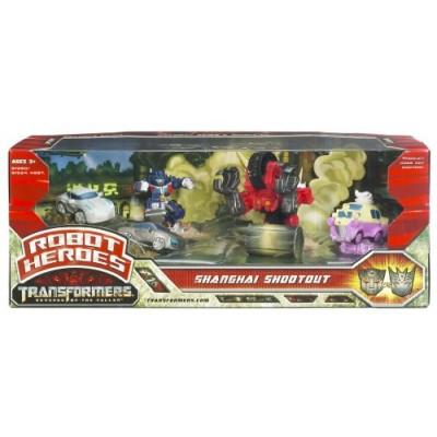 Transformers Movie 2  Robot Heroes - Shanghai Shootout