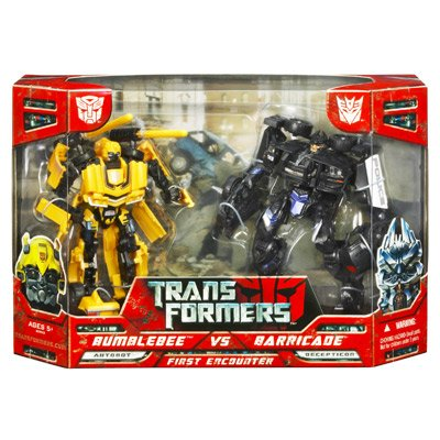 Transformers Movie Deluxe Bumblebee Vs Barricade Combo Set