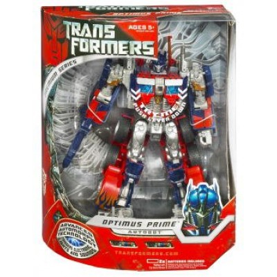 Transformers Movie Hasbro Leader Action Figure Premium Optimus Prime