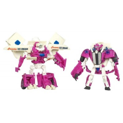 """Transformers Movie Series 2 """"Revenge of the Fallen"""" Deluxe Class 2 Pack 5 Inch Tall Robot Action Figures - Autobot SKIDS and MUDFLAP that Combines ..."""