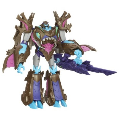 Transformers Prime Beast Hunters Voyager Class Sharkticon Megatron Figure