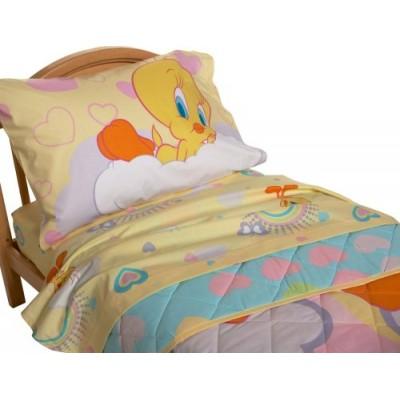 Tweety Toddler Bed Set