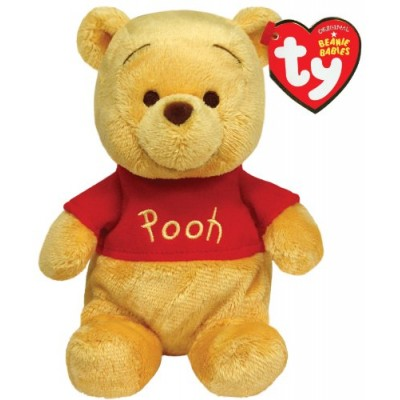 Ty Beanie Babies Winnie The Pooh Plush, Classic Bear