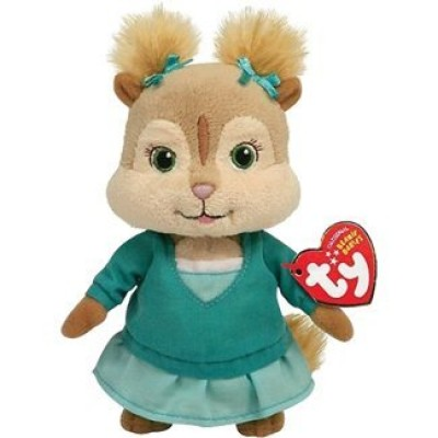 TY Beanie Baby Eleanor - Alvin  and  the Chipmunks