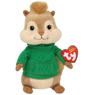 Ty Beanie Baby Theodore,  Alvin and the Chipmunks