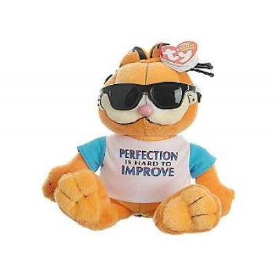 TY Beanie Baby - GARFIELD the Cat (PERFECTLY LOVEABLE)