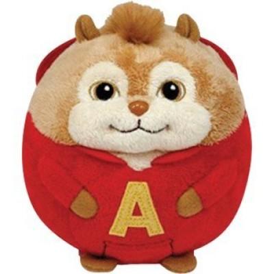 Ty Beanie Ballz Alvin - Chipmunk