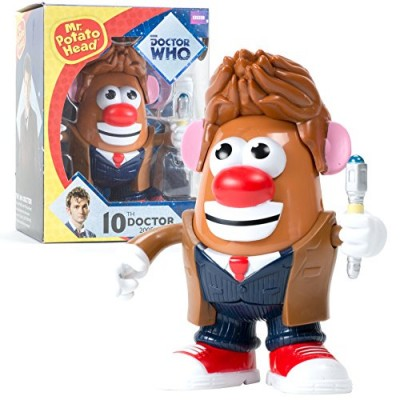 """Doctor Who Mr. Potato Head - The Tenth Doctor - Action Figure Toy - 6.5"""" Tall"""