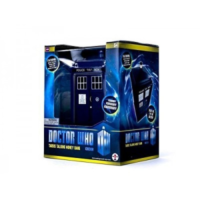 Doctor Who TARDIS Money Bank - Doors Open and Close - Lights and Sounds, Bigger on the Inside