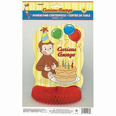 "14"" Honeycomb Curious George Decoration"