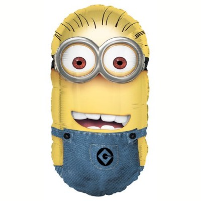 "35"" Foil Jumbo Despicable Me Minion Balloon"