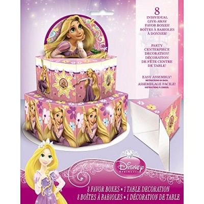 Disney Tangled Favor Box Centerpiece Decoration for 8