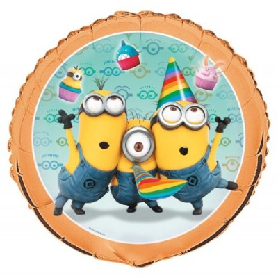 "Unique Party Supplies - Despicable ME2 - 1 count 18"" Foil Balloon"