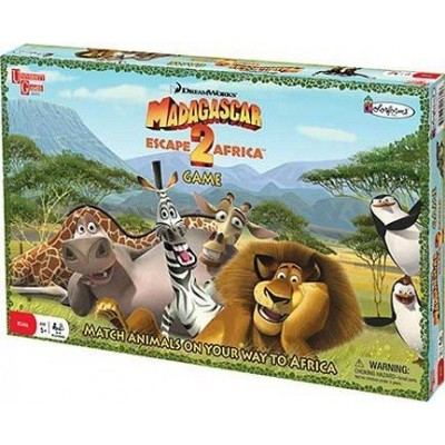 University Game Madagascar Escape 2 Africa Board Game