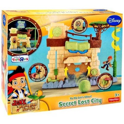 Disney Jake Neverland Pirates Yo Ho Lets Glow Secret Lost City