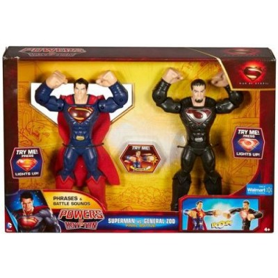 Man of Steel Powers of Krypton 2-Figure Pack: Superman vs. General Zod