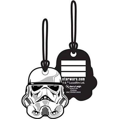 Star Wars Storm Trooper Helmet Collectors Luggage Suitcase Tag