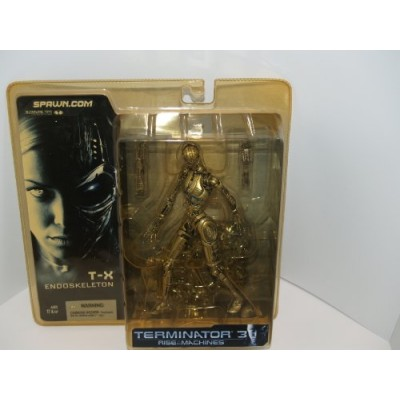 Terminator 3 T-X ENDOSKELETON Figure McFarlane NEW SEALED MOC