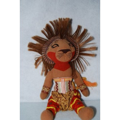 The Broadway Musical Lion Kings Simba Plush Toy