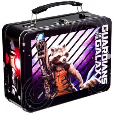 Vandor 26470 Marvel Guardians of the Galaxy Large Tin Tote, Multicolor