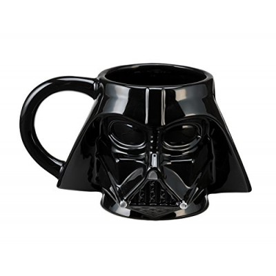 Vandor 99001 Star Wars Darth Vader Sculpted Ceramic Mug, Multicolored