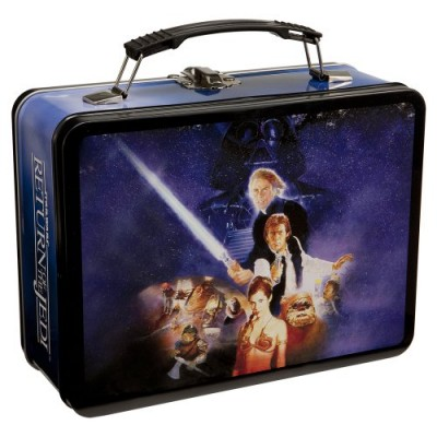 Vandor 99170 Star Wars Return of the Jedi Large Tin Tote, Multicolor