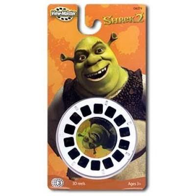 Shrek 2 3-D View Master reels pack of 3