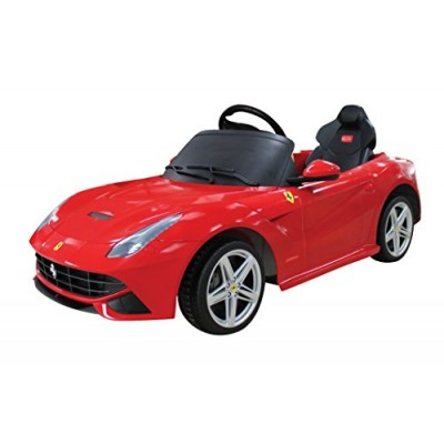 Vroom Rider Ferrari F12 Rastar 12V Battery Operated/Remote Controlled Ride-On, Red