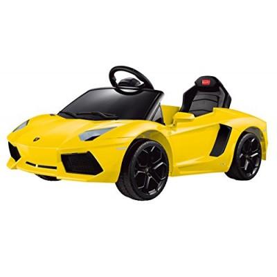 Vroom Rider Lamborghini Aventador LP700-4 Rastar 6V Battery Operated/Remote Controlled Ride-On, Yellow