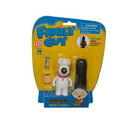 Family Guy Create-a-Figure Brian (Includes Part to Build Death) by Walgreens
