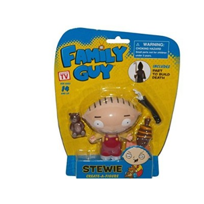 Family Guy Create-a-Figure Stewie (Includes Part to Build Death)