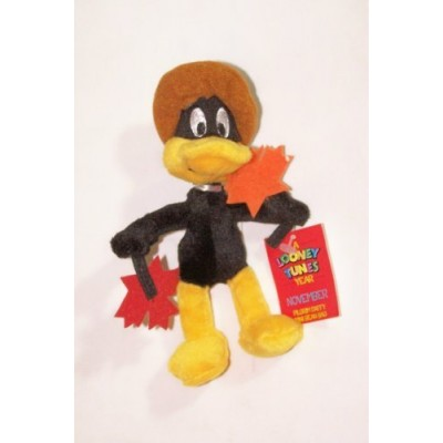 "A Looney Tunes Year: 6"" Pilgrim Daffy Mini Bean Bag (November 2000)"