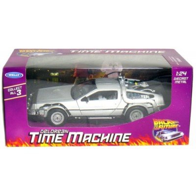 Collect All 3! Back to The Future 1-2-3, DeLorean Time Machine.