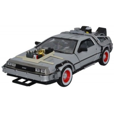 Welly- 1/24 DeLorean Back To The Future Part III
