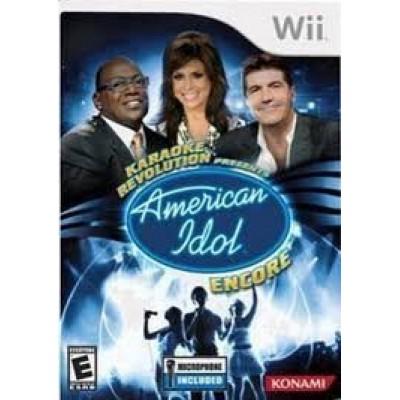 Wii Karaoke Revolution Presents: American Idol Encore