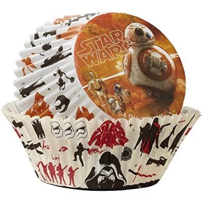 Wilton 50 Count Star Wars Baking Cups, Black