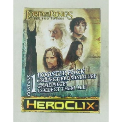 Lord of the Rings: The Two Towers Heroclix Single Figure Booster Pack WZK70996