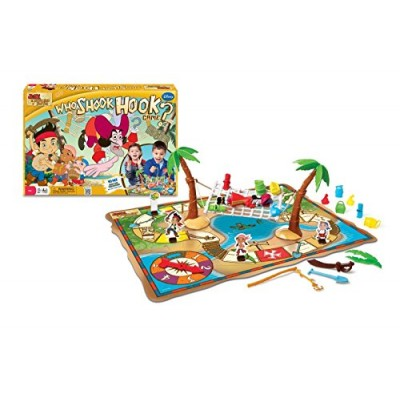 Jake and The Never Land Pirates Who Shook Hook Adventure Board Game