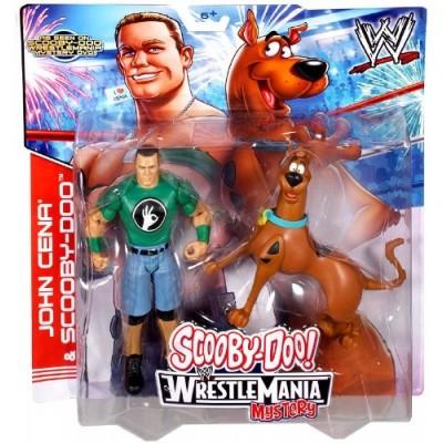 Mattel WWE Wrestling Scooby-Doo WrestleMania Mystery Action Figure 2-Pack John Cena & Scooby-Doo