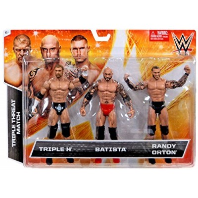 WWE Basic Figure 3 Pack #2 Action Figure