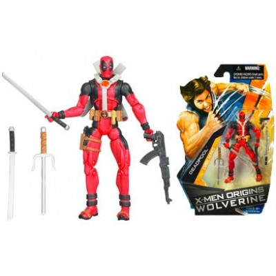 X-Men Origins Wolverine Comic Series 3 3/4 Inch Action Figure Deadpool
