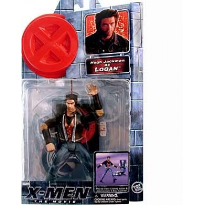 X-MEN THE MOVIE LOGAN WOLVERINE ACTION FIGURE