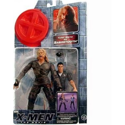 X-Men the Movie--Sabretooth action figure [Toy]