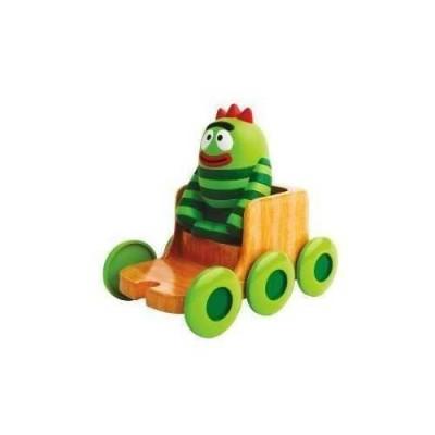 Yo Gabba Gabba Push Around Vehicle and Character Drivin' Friends Brobee