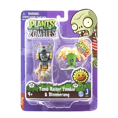 "Zoofy International 3"" Tomb Raiser Zombie Action Figure with Boomerang"